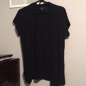 Black Cardigan with Pockets. Size: M